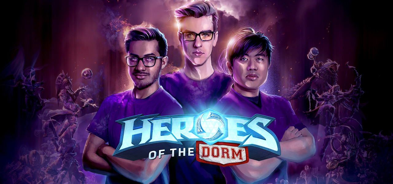 heroes of the dorm blizzard entertainment